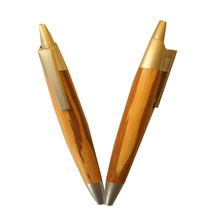 Smooth Writing Bamboo Ballpen for Promotion Gift