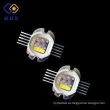 brillo de alta potencia RGBW 4 en una alta potencia 30w llevó luces de la etapa