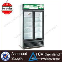 Fancooling profesional escaparate refrigerado supermercado vertical