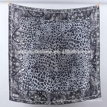 Шелковица шелк 2014 элегантный леопард ислама хиджаб платье