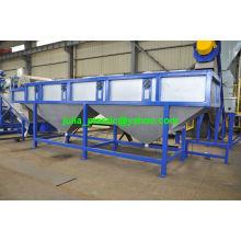 Ligne de recyclage et de lavage pour le plastique de régule de PE de pp