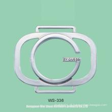 Etiqueta para as bolsas, logotipo da liga do zinco, acessórios para sacos, vestuários etc.