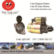 Запчасти и стартеры для дизельных двигателей (QD138C)