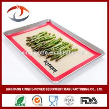 "16 1/2"" X 11 5/8"" Non stick Heat resistant Reusable Silicone baking mats"