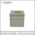 Kinesisk River Shell Tissue Box Cover för Star Hotels