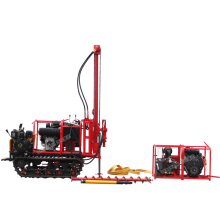 pneumatic mountain drilling rig ,small  portable Geological exploration drill  rig