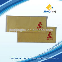 optical cloth with single polybag and one color LOGO