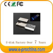 Disco de destello caliente al por mayor del flash LED del disco del USB LED del metal de la venta para la muestra libre