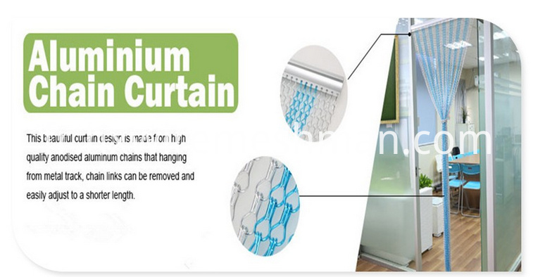 alumium chain curtain