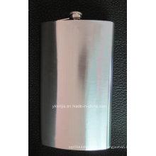 Volume enorme 64oz Hip Flask aço inoxidável 1.9L