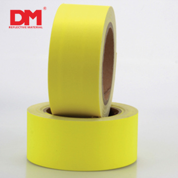 DM Safety Aramid ignífugo RF fluorescente amarillo tela reflectante
