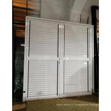 Porte ajustable en aluminium