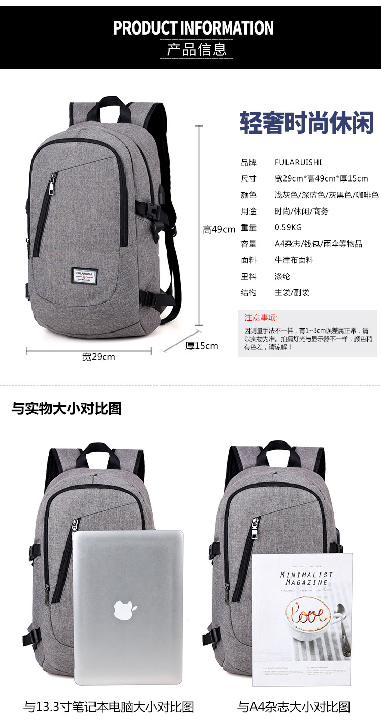 Hot-sale factory direct supply business laptop backpack