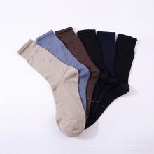 tripulação personalizada meias de vestido de algodão orgânico para o verão