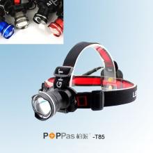 Fisheye Deisgn CREE Xm-L T6 mais brilhante LED farol (POPPAS-T85)