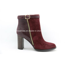 Ultimas Confort Fashion High Heels Lady Leather Ankle Boots