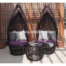 Modern design outdoor PE rattan sofa sets garden furniture