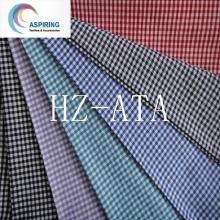 Мода ткани полиэстер хлопчатобумажной пряжи окрашенные ткани сплетенный полосой Проверьте полоса для рубашек