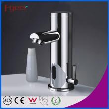 Fyeer Single Handle Bathroom Lavatório automático Sensor Faucet