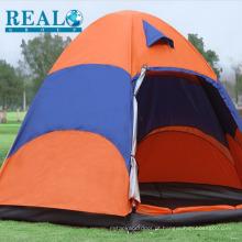 Acampamento ao ar livre popular dobrável tendas tamanho grande 2 camadas barraca de acampamento fabricante China