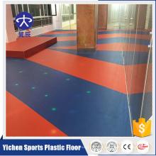 Green and Environmental piso de plástico ginásio ostentando revestimento