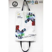 2016 Top Quality HK Jockey Printing Fashion Big Shopping Tote Bag