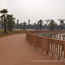 Wholesale Price WPC Factory Waterproof Decorative Landscape Walkway Wood Plastic Composite WPC Railing