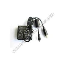 Charger & USB Cable Cord For Nikon Coolpix S8000 S8100 S8200 Camera