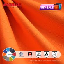 Gran lote al por mayor de la acción de la tela ignífuga de las ventas al por mayor para el workwear