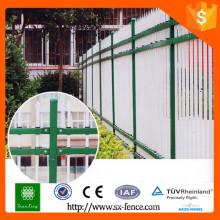 Garantia de comércio painéis de cercas de ferro forjado / painéis de cercas galvanizadas / painéis de vedação baratos