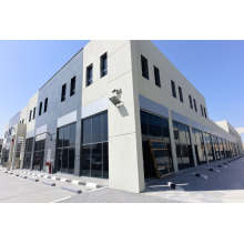 Prefabricated Structural Steel Car Hall Showroom (KXD-SSB1497)