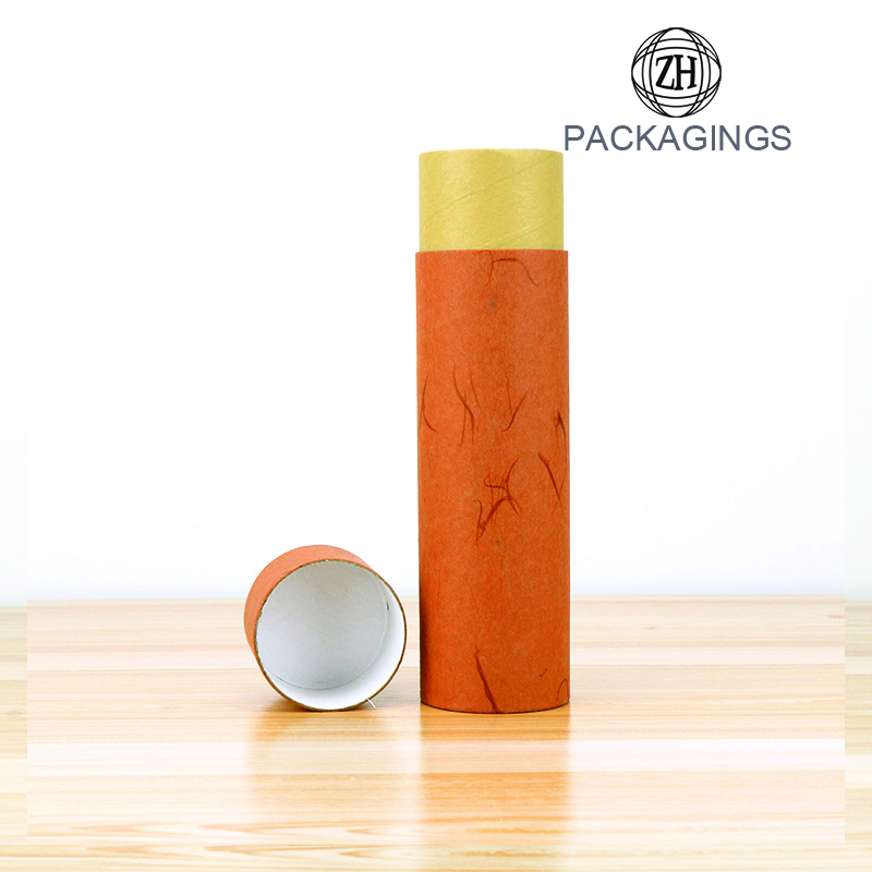Garment Apparel Packaging Cans Clothes Paper Tube
