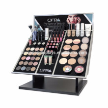 Lipstick Display Stand Manufacturer Professional In Store Wooden Makeup Cosmetics Display Counter