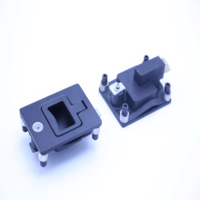 China made zinc alloy and spray paddle latch lock 012016