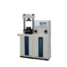 Máquina de pruebas de compresión de cemento con pantalla digital