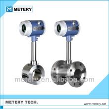 Vortex flow meter for compressed air flow meter