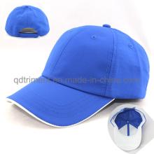 Cómodo tejido de poliéster Mircrofiber Tela Cap Golf Golf personalizado (TRNB092)