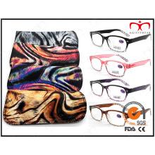 Correspondência Pouch Animal Pattern óculos de leitura de moda Eyewear (MRP21587)