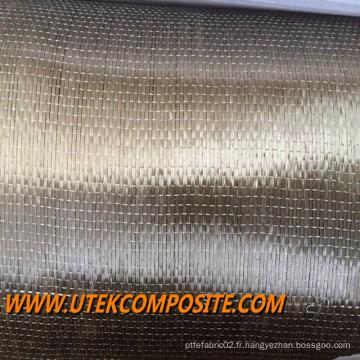 Tissu unidirectionnel de basalte 300GSM 30cm Largeur