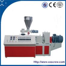 Extrudeuse à double vis pour la fabrication de tuyaux en PVC