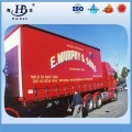 Waterproof Vinyl Tarpaulin Container Side curtain / dump truck cover