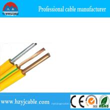 Venta directa de fábrica de China BV Conductor de aluminio del solo alambre