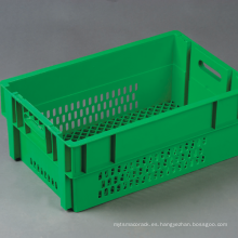 Contenedor de apilamiento retroflected para transporte de vegetales