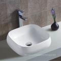 Ванная верхняя установленная одна кранная кранная керамическая ванна с тонким краем