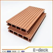 Environmental freindly anti framing sanding surface WPC hollow decking laminate flooring