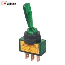 Interruptor De Alavanca De Carro Iluminado ON-OFF ASW-13D