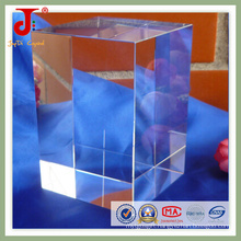 Factory Wholesale 3D Engraved Crystal Cube