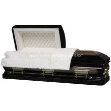 Sterling Urn Ebony Gold coin cercueil