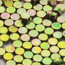 Colored Znic Plating NdFeB Rare Earth Magnet Disc