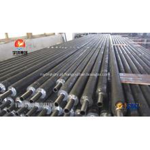A214 Condensador helicoidal CS extrudados tubos de aleta